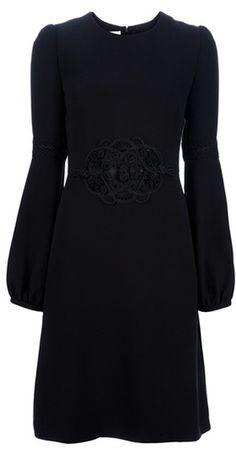 Valentino Dress in Black - Lyst