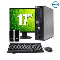 5-Piece Set: Dell Optiplex Windows 7 OS 2.8GHz 2GB Desktop PC at 49% Savings off Retail!
