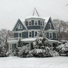 victorian homes   Flourtown, PA : Victorian Home on West Mill Road built as a wedding ...