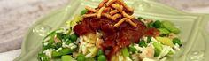 382 Teriyaki Surf and Turf Beef Salad Beef Salad, Surf And Turf, Beef Recipes, Tacos, Mexican, Ethnic Recipes, Food, Meat Recipes, Steak Salad