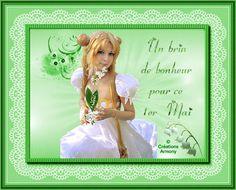 1er Mai Fête du Muguet - Créations Armony Creations, Cards, Spring