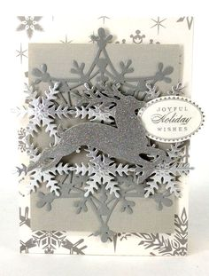 © Anna Griffin, Inc. Make deer a different color. Pop Up Christmas Cards, Chrismas Cards, Christmas Trends, Christmas Paper, Xmas Cards, Handmade Christmas, Holiday Cards, Christmas Crafts, Christmas 2016