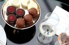 Juhlista arkea - Fazer.fi #handmade #chocolate and #wine