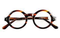 b63c3983b0c7 40mm - 61mm HANDMADE Vintage Round Glasses Tortoise Optical Eyeglasses  Frames Rx