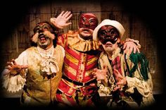 La Commedia dell'Arte su The Mask