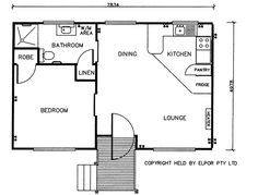 1000 images about tiny house floorplans on pinterest Granny cottage plans