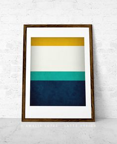 8x10, $15.  11x14, $19. Shipping: $6.90  Stripes wall art. Stripes print stripes poster by LatteDesign