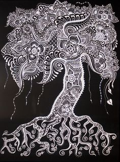 17 Trendy tree of life stencil pattern coloring pages Arte Mehndi, Henna Mehndi, Henna Art, Mehendi, Tree Canvas, Canvas Art, Henna Kunst, Pattern Coloring Pages, Zentangle Patterns