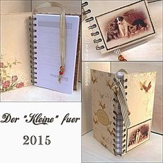 Schmaler Buchkalender / Timeplaner Office Supplies, Notebook, Cards, The Notebook, Exercise Book, Notebooks