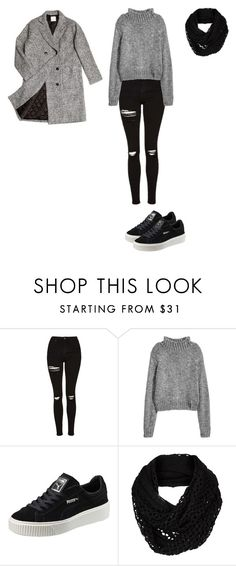 """""""Let's Lair!"""" by nina-van-warmerdam on Polyvore featuring mode, Topshop, Puma, The North Face en ssongbyssong"""