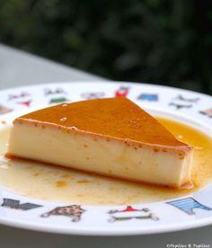 Crème renversée au caramel »