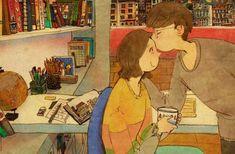 O amor está nos pequenos detalhes: um abraço apertado, dormir abraçado, ler um livro ao lado da pessoa amada, aguardar com ansiedade seu telefonema...