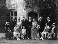 August 29, 1928 Penrose wedding at Lismore Castle, Waterford