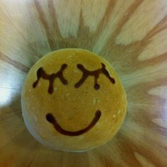 Smiley Face on Bread:   I would enjoy making & watching it more than eating it.