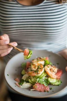 Spring Salads For Dinner | theglitterguide.com