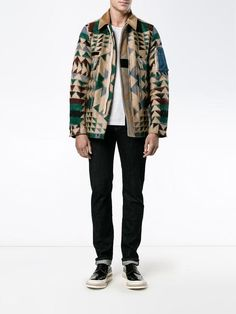 Shop Valentino Navajo print jacket.