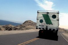 Armando Andrade Tudela. Camion (detail), 2003, Single screen slide projection, Dimensions variable