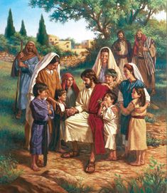 """Luke 18:16-17 But Jesus called for them, saying, """"Permit the children to come to Me, and do not hinder them, for the kingdom of God belongs to such as these. """"Truly I say to you, whoever does not receive the kingdom of God like a child will not enter it at all."""""""