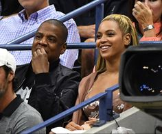 Stars at the Open September 1 2016 - Jay Z and Beyonce during the 2016 US Open at the USTA Billie Jean King National Tennis Center in Flushing NY. Beyonce 2016, Beyonce And Jay Z, American Rappers, American Singers, Billie Jean King, Tennis Match, Celebrity Couples, Celebrity Women, Serena Williams