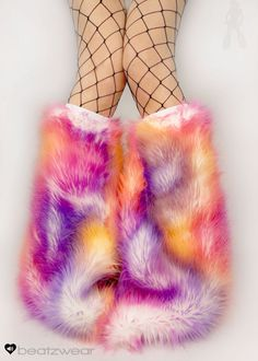 Hey, I found this really awesome Etsy listing at https://www.etsy.com/listing/171443691/made-to-order-tie-dye-fluffy-leg-warmers