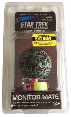 Star Trek the Next Generation - Borg Sphere 2.5 Monitor Mate - Toy Fair 2014 Exclusive @ niftywarehouse.com #NiftyWarehouse #StarTrek #Trekkie #Geek #Nerd #Products
