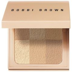 Bobbi Brown Nude Finish Illuminating Powder - Colour Nude ($54) ❤ liked on Polyvore featuring beauty products, makeup, face makeup, face powder, beauty, fillers, cosmetics, косметика, illuminating face powder and bobbi brown cosmetics