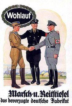 German NS postcard