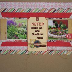 look at the garden grow - Scrapbook.com