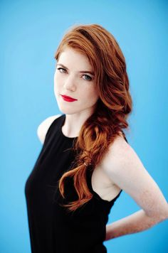 Rose Leslie as Lissa Piner from Fire Bound by Christine Feehan
