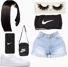 Stylish Outfits for Teens Cute Lazy Outfits, Swag Outfits For Girls, Teenage Girl Outfits, Cute Swag Outfits, Girls Fashion Clothes, Teen Fashion Outfits, Dope Outfits, Girly Outfits, Grunge Outfits