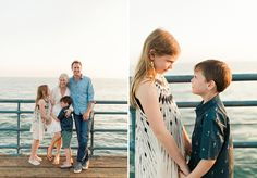 what to wear family photography - beach family photo session | photos by one eleven photography Family Photo Sessions, Family Posing, Beach Family Photos, Couple Photos, Family Of 3, Venice Beach, Heart Eyes, Santa Monica, Family Photography