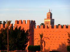 Les remparts Marrakech, Morocco