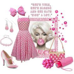 Bubblegum girl by ida-mccosh on Polyvore featuring polyvore fashion style Dooney & Bourke Tory Burch Concord