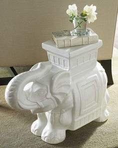 White Elephant Garden Seat at Horchow. on sale 12..10.12 for 199 less 20% and free shipping