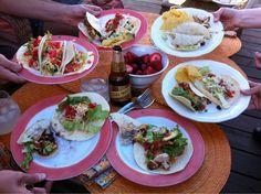 Last Sunday's tacos.
