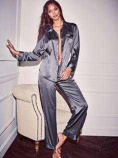 Pyjama en satin The Afterhours - Victoria's Secret
