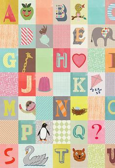 petra boase on print & pattern / There is an H and an E and a penguin!