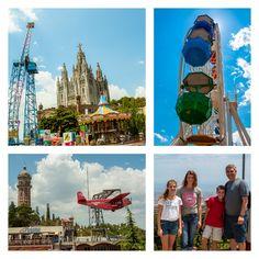 Mount Tibidabo Barcelona Spain church and amusement park carissa rogers goodncrazy #rogersinspain