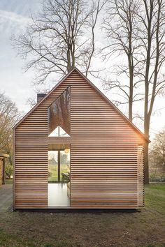 Recreatiewoning met variabele openheid - architectenweb.nl