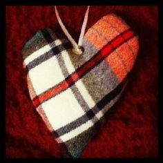 The Free Money-Saving Tips Ezine: Homemade Christmas Ornaments: Flannel Shirts
