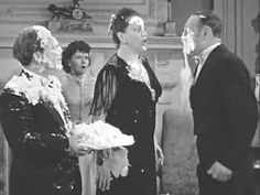 """The Three Stooges, a society party and lots of pies. Does it get any better? From the 1941 short, """"In The Sweet Pie And Pie""""."""