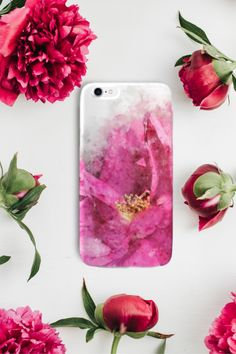Watercolor rose case 🌷🌷 #rosescase #watercolorcase #phonecase #phonecover Watercolor Rose, Mobile Cases, Phone Covers, Floral, Pink, Pink Watercolor, Mobile Covers, Flowers, Pink Hair
