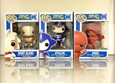 Funko Pop Asia Exclusive Mont Blanc Epsilon Bora set from Astro Boy RARE  | eBay