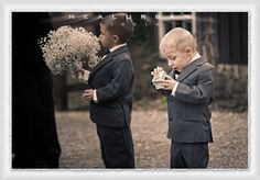 Buffalo Wedding Photographer & Destination Photography - A surprised Ring Bearer!