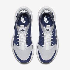 meet e2c94 72cea Chaussure Nike Air Huarache Pas Cher Femme et Homme Ultra Bleu Binaire  Platine Pur Anthracite Noir