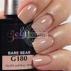 Gel II Bare Bear - swatch by Chickettes.com