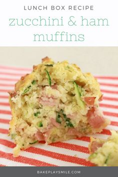 Zucchini & Ham Muffins 2019 These Zucchini & Ham Muffins are the perfect savoury snack. Quick easy and tasty pop them into lunch boxes for a yummy school lunch! The post Zucchini & Ham Muffins 2019 appeared first on Lunch Diy. Savory Snacks, Lunch Snacks, Healthy Snacks, Healthy Recipes, Lunch Kids, School Snacks, Easy Recipes, Savory Muffins Healthy, Kids Lunchbox Ideas