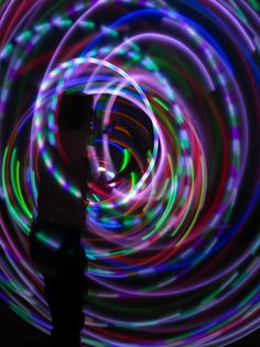Need to get an led light hoop! Would love to hoop dance with one of these!