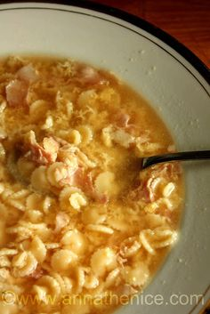 Anna The Nice. My Favorite Food, Favorite Recipes, Soup Recipes, Cooking Recipes, Confort Food, Fast And Slow, Original Recipe, Soups And Stews, Food And Drink
