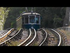 Trieste - Opicina hybrid retro tramway cab view, uncut.
